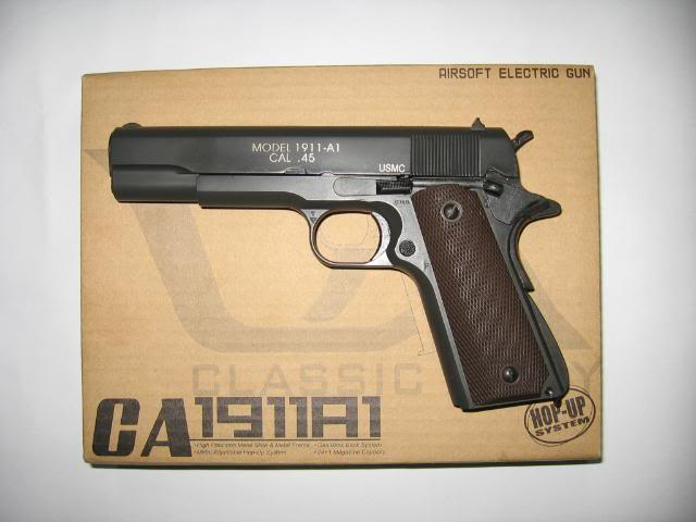 NEW ARRIVAL CA 1911A1 GBB IMG_2968