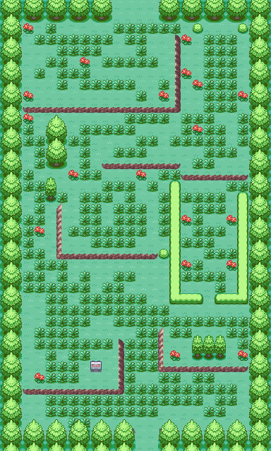 Pokemon Metalrush More Screens later Map
