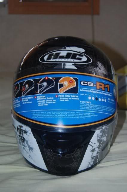 For Sale: HJC CS-R1 Samurai MC5 5-1