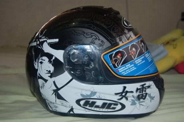 For Sale: HJC CS-R1 Samurai MC5 6-1