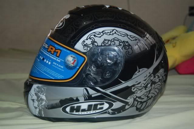 For Sale: HJC CS-R1 Samurai MC5 7-1