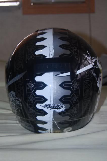 For Sale: HJC CS-R1 Samurai MC5 8-1