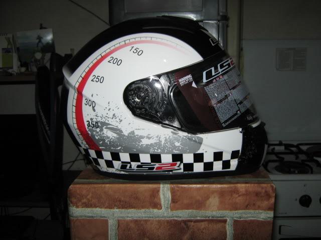 For Sale: LS2 Helmet (FF351 Chrono) IMG_2631