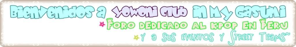 Foro gratis : ☆ ~ Yowoni In My Gasumi~ ** K-Pop ~ ☆ - Yowoni Club~ ♥ Yowoni-1