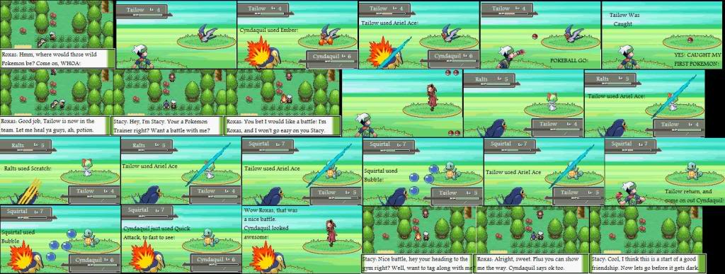 Pokemon Comic Series Episde2FirstCatchNewFriends