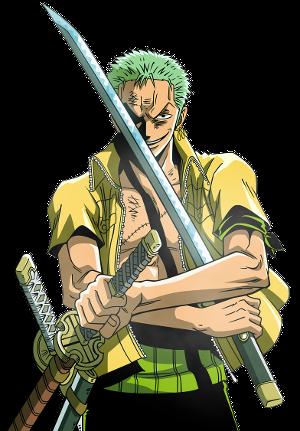 [Silver Eyes Pirates] Auron; Buscando una posada Zoro-Render2