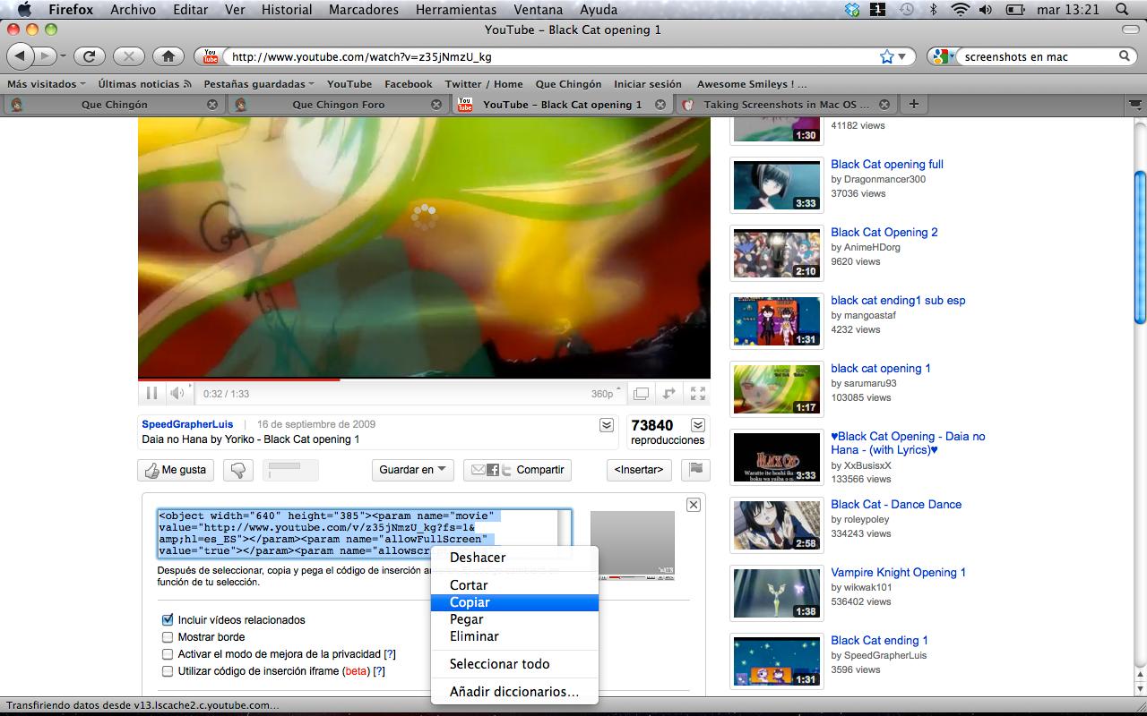 Videos de Youtube Capturadepantalla2010-09-21alas132134