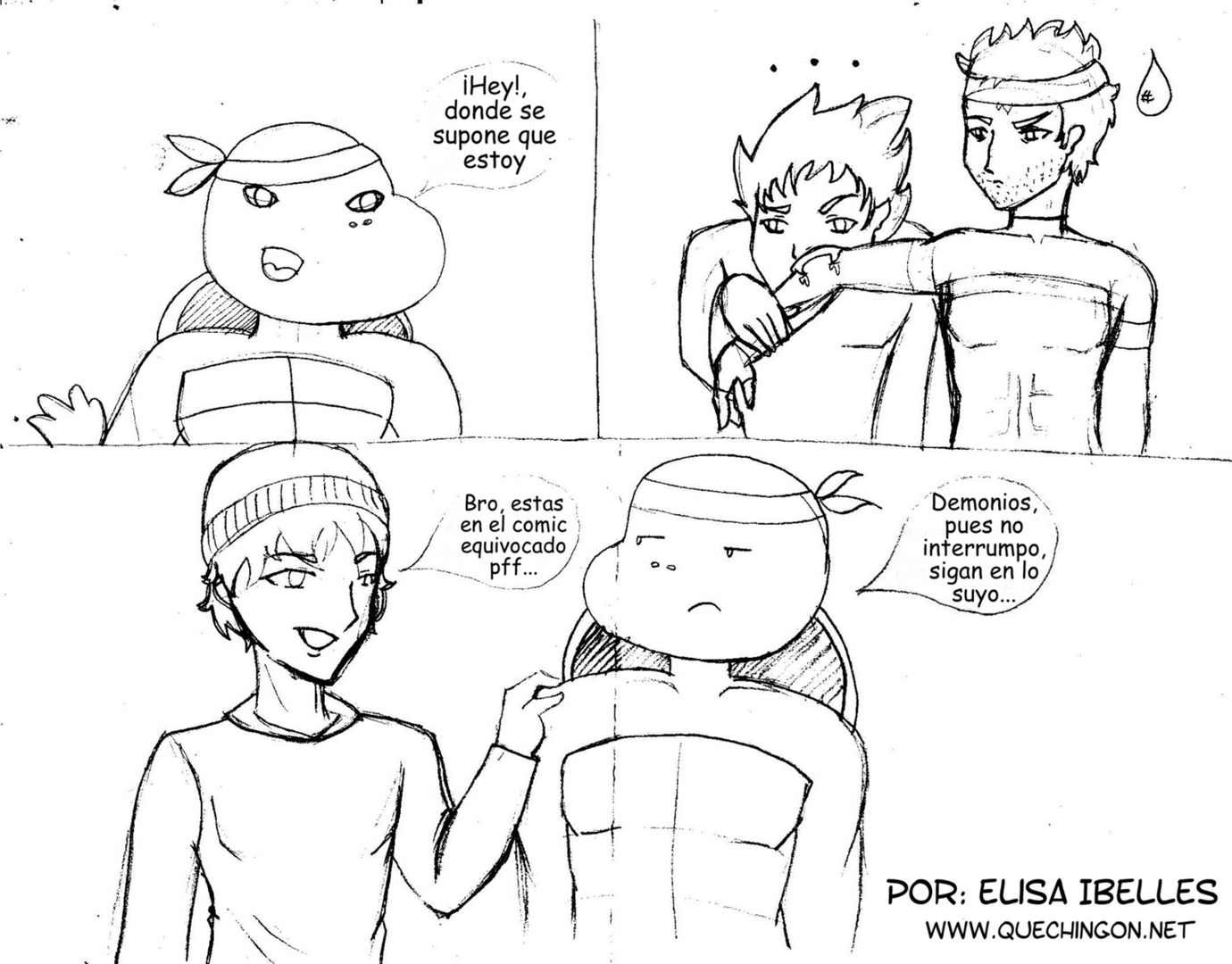 Empezamos Comic #1 - Página 2 Comicelisa002