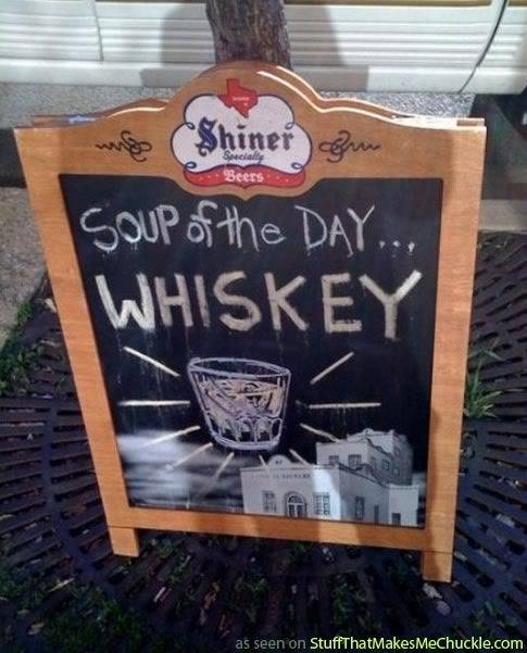 Mystery Tune of the Day Soup_of_the_day_whiskey