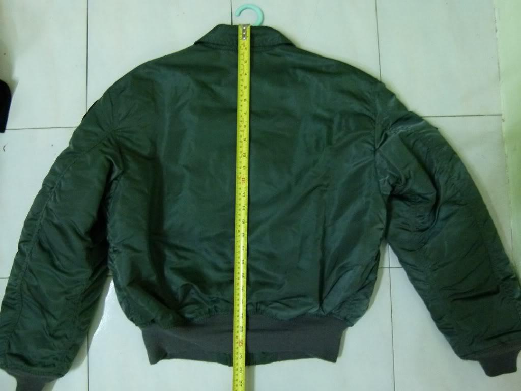 Alpha CWU 45/P Flight Jacket For Sale P1000620