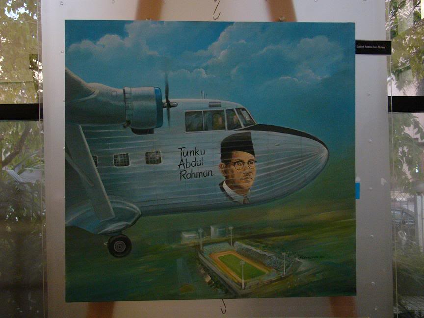 AVIATION ART - Karya saudara Zarian Babjan Aa4