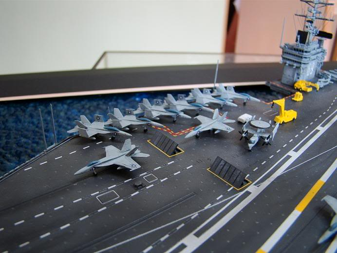 Ships, Aircraft Carriers and Submarines Cvn1