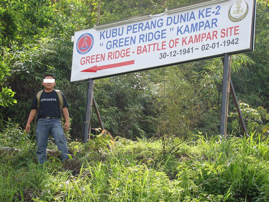 Battle Of Kampar (Green Ridge Battle Site), Kampar, Perak. Gr1