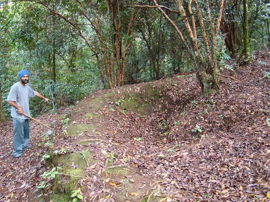 Battle Of Kampar (Green Ridge Battle Site), Kampar, Perak. Gr16