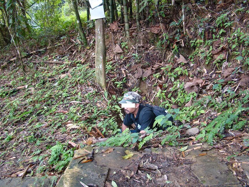 Battle Of Kampar (Green Ridge Battle Site), Kampar, Perak. Gr7