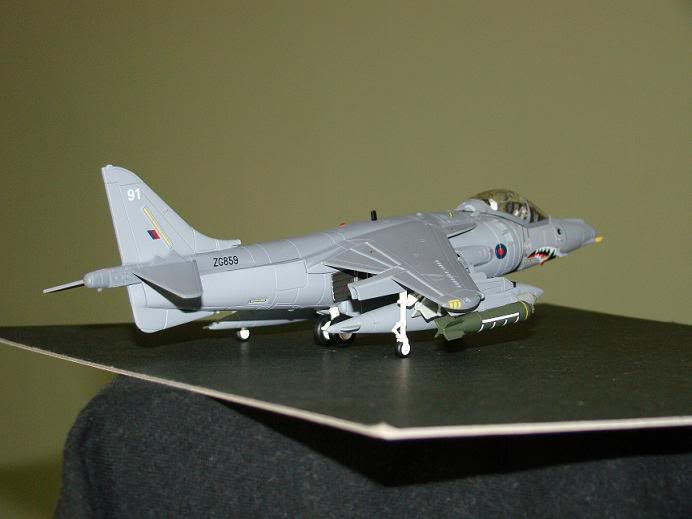 1:72 Scale Aircraft Model (Kits and Diecast) Harrier2