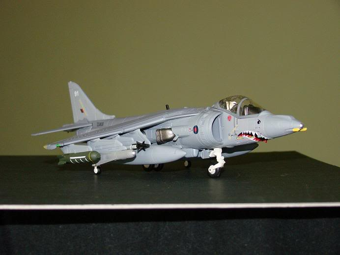 1:72 Scale Aircraft Model (Kits and Diecast) Harrier3