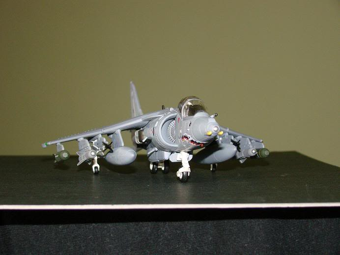 1:72 Scale Aircraft Model (Kits and Diecast) Harrier4