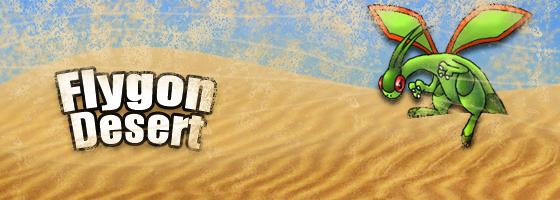 Flygon Desert