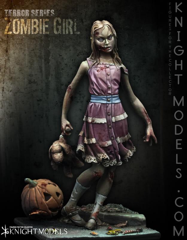 KNIGHT MODELS ZOMBIE-GIRL--FOTO1