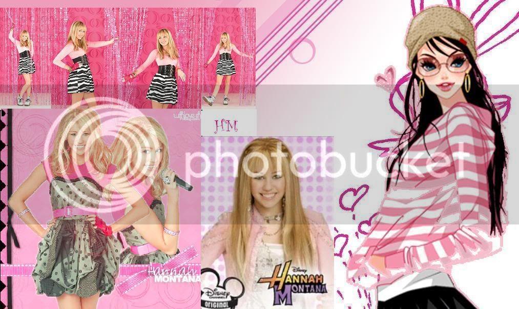Miley kao Hannah Montana Untitled-1