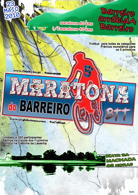 """5ª Maratona BTT """"Cidade do Barreiro"""" - 23 Maio 2010 CARTAZMARATONAFINAL640x"""
