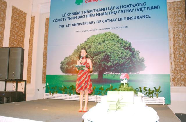 Lễ Kỷ Niệm 1 Năm Thành Lập & Hoạt Động Cty BHNT Cathay (HCM) DSC_0828