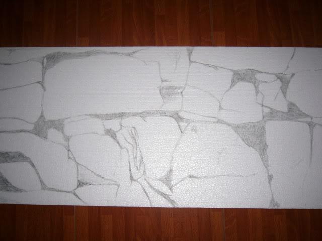 Fondo rocoso 3D (Por fuera del acuario) P1040056