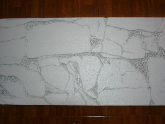 Fondo rocoso 3D (Por fuera del acuario) P1040059