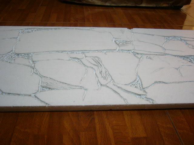 Fondo rocoso 3D (Por fuera del acuario) P1040061