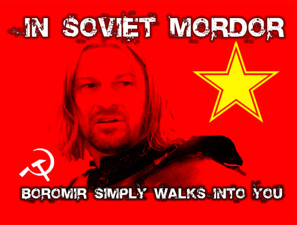 Lord of the Rings Humour: Parodies, Satires and More - Page 4 SovietMordor