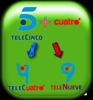 Telecinco habla con Cuatro y LaSexta para una fusión T5-o-1