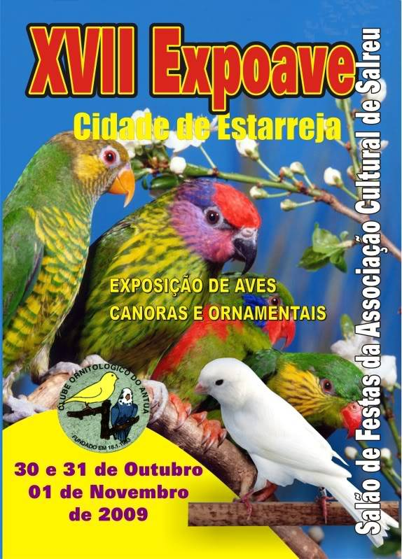 17ª Expoave Cidade de Estarreja Cartaz2009