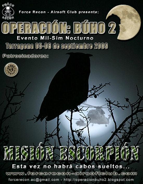 Force Recon - A.C. Presenta, Operación: Búho 2 OPBuho2