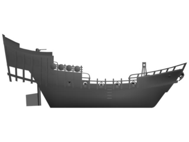 [Briskars] Jonque pirate Junk3