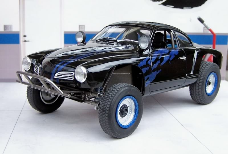 Ghia body on Thing Chassis ModelGhia3
