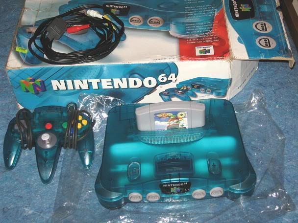 Nintendo 64 11N64celeste