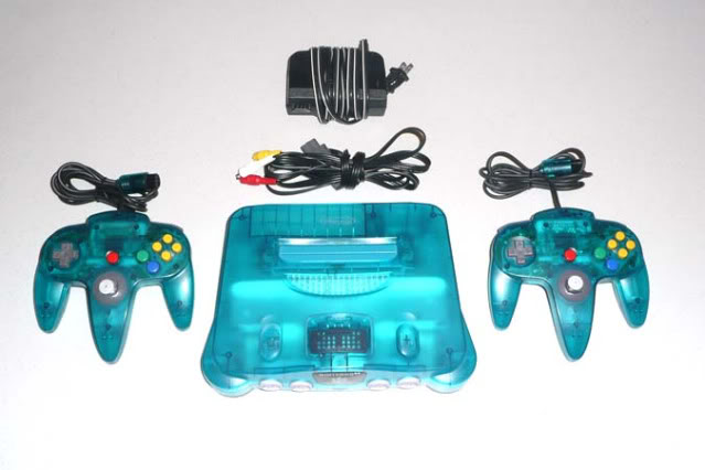 Nintendo 64 12N64celesteII