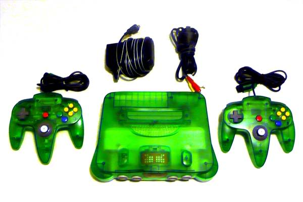 Nintendo 64 14N64verdeII