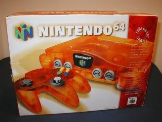 Nintendo 64 15N64naranjaamericano