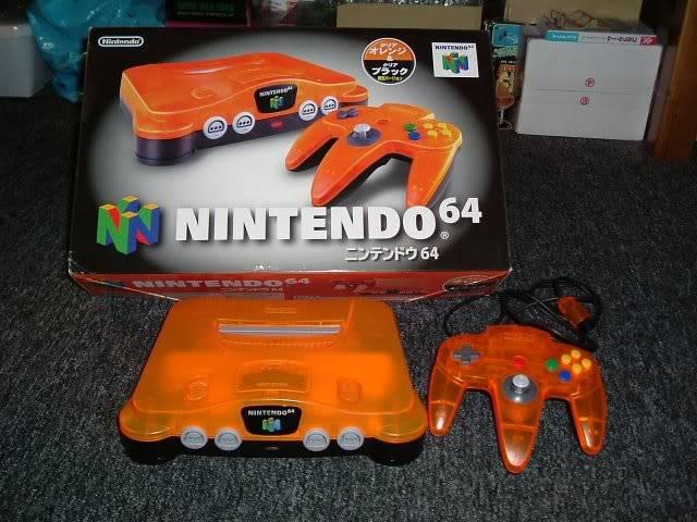 Nintendo 64 16N64naranjajap