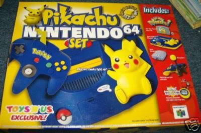 Nintendo 64 18N64pikachuamerica