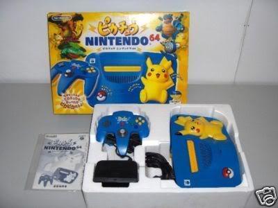 Nintendo 64 19N64Pikachujap