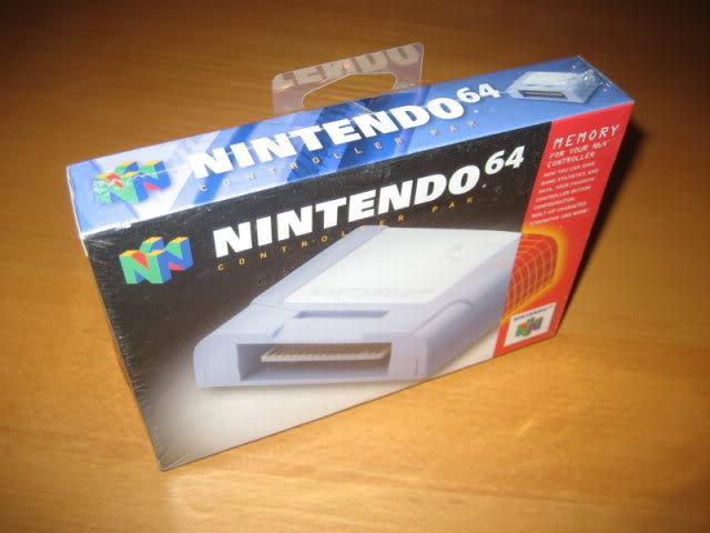 Nintendo 64 26MemorypackoriginalFrontal