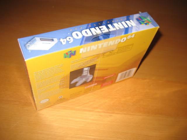Nintendo 64 26Memorypackoriginalatras