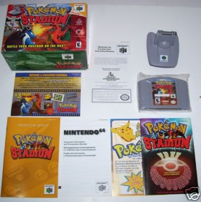 Nintendo 64 27PokemonstadiumTransferpack