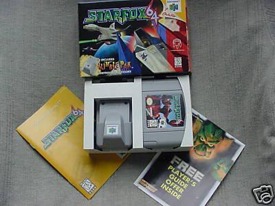 Nintendo 64 28Starfoxrumblepack