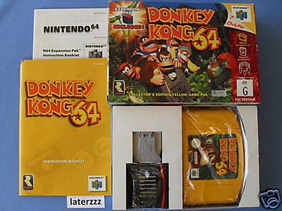 Nintendo 64 29Donkeykong64expansionpack