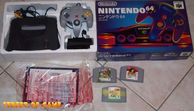 Nintendo 64 3N64jap