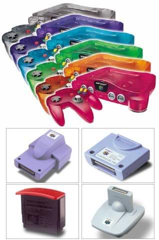 Nintendo 64 8N64coloresyaccesorios